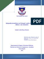 Infografia jornalística em Portugal