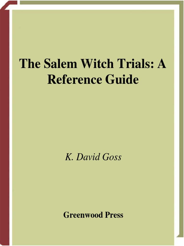 essay on watchcraft In the 1600's rumors of witchcraft spread throughout england and even more so in new england though punishing someone by death for practicing witchcraft was not unheard of, it was all but common that is, until the year 1692 in salem, massachusetts.