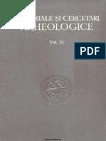 Materiale Si Cercetari Arheologice VI 1959
