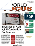 Installation of H2s Gas Detector