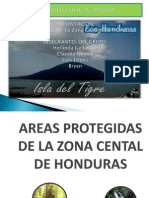 Areas Protegidas de La Zona Norte de Honduras