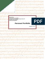 Portfolio - Final Exam