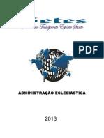 Administração Eclesiastica 2014