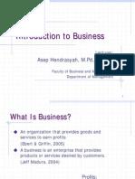Pengantar Bisnis English