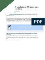 Instalar JDK y eclipse en Windows para programar en Java.doc