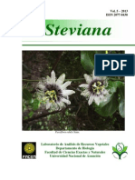 Revista Steviana - Vol. Nº 5