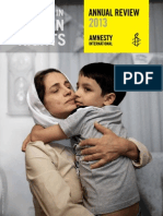 Amnesty Annual Review 2013
