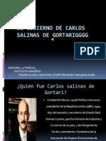 El Gobierno de Carlos Salinas de Gortari Expocicion