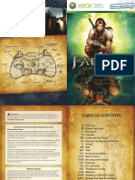Fable II User Manual - Xbox 360