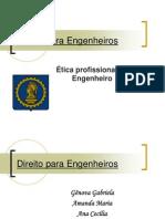Confea - Ética Profissional Do Engenheiro