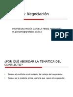 1) Conflicto y Formas de Resolucion