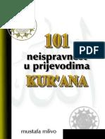 101 Neispravnost u Prijevodima Kur'Ana