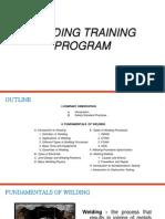 Welders Training Program Manual