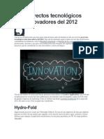 Proyectos_tecnologicos Mas Innovadores