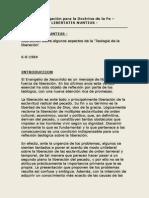 Libertatis Nuntius Congregación Para La Docrtina de La Fe. Instrucción Sobre Algunos Aspectos de La Teología de La Liberación.