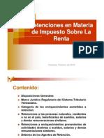 Presentación Retenciones ISLR 2012