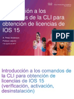 Ios15 Cli Cmnds