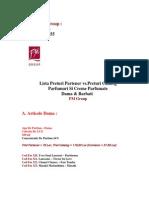 3_Lista Parfumuri & Creme Parfumate - Pret Partener vs.pret Catalog