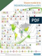 Agro-Bio Mapa Infografia Cultivos Biotec Mundial 2013 Vf