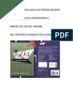 Manual WINQSB - Programacion Dinamica