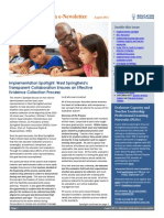 Educator Evaluation Newsletter August 2014