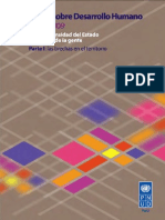 Informe Sobre Desarrollo Humano Perú 2009-Vol I