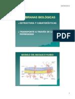 Membrana - Estructura y Función