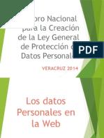 6o Foro Nacional Para La Creacion de La Ley General de Proteccion de Datos Personales