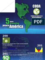 CDDA 5 years promoting change in the Americas