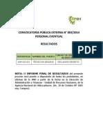 Referencia Convocatoria HAB F 2014 003