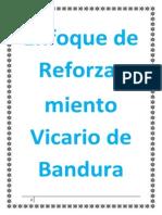 BANDURA y Su Enfoque de Reforzamiento Vicario