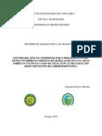 Estudio Del Efecto Citoprotector y Proliferativo Del Extracto Hidroalcoholico de Semillas de Mucuna Urens Sobre Un Cultivo in Vitro de Celulas Pc 12