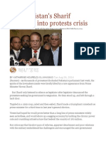 How Pakistan's Sharif Stumbled Into Protests Crisis