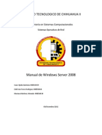 Manual Windows Server 2008