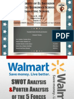 SWOT & Porter Walmart EngII