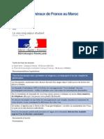 Consulats Généraux de France Au Maro1