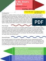 newsletter primary oct