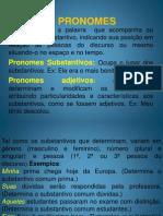 Slide Dos Pronomes Com Pessoais 1ª Série