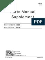 Gmk5220 Crane- Parts Manual