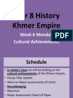 week 3 - cultural achievements