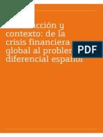 Introduccion y Contexto de La Crisis Financiera Global Al Problema Diferencial Español