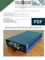 g8 Tech Sheet