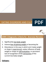 Eating Disorders and Culture