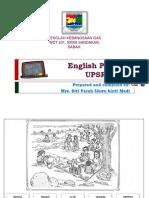 UPSR English Paper 2 2014
