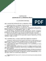 d Civil i Rivera Tomo II - Cap. 19 - Instituciones de Derecho Civil - Rivera - Extincion de La Persona Física