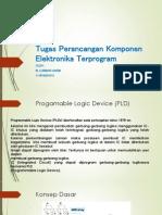 Perancangan Komponen Elektronika Terprogram 1