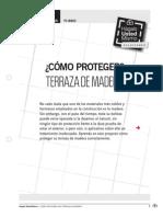 Pi-ma03 Proteger Terraza Madera