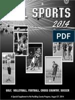 Fall Sports 2014