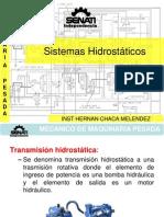Sistemas  Hidrostáticas