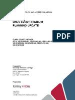 UNLV Utility and Access Summary